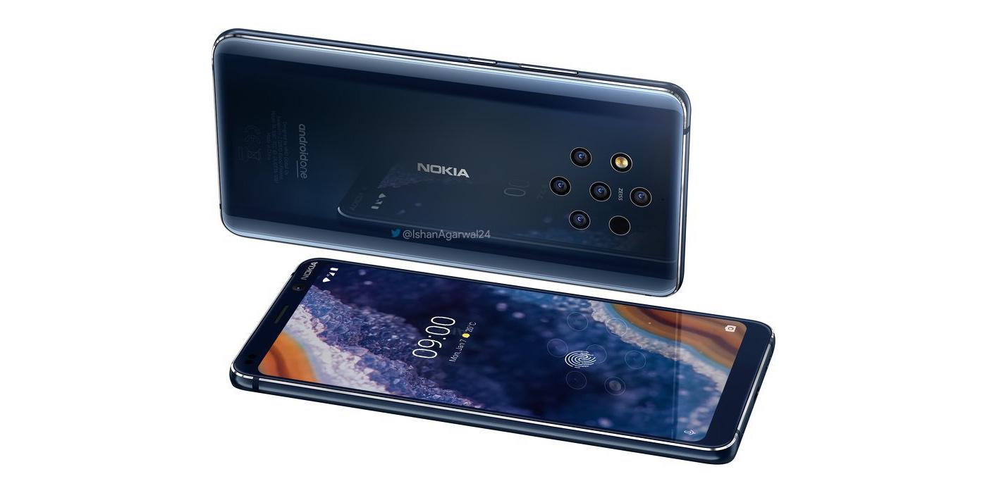 Inilah Ponsel dengan 5 Kamera, Nokia 9 PureView!