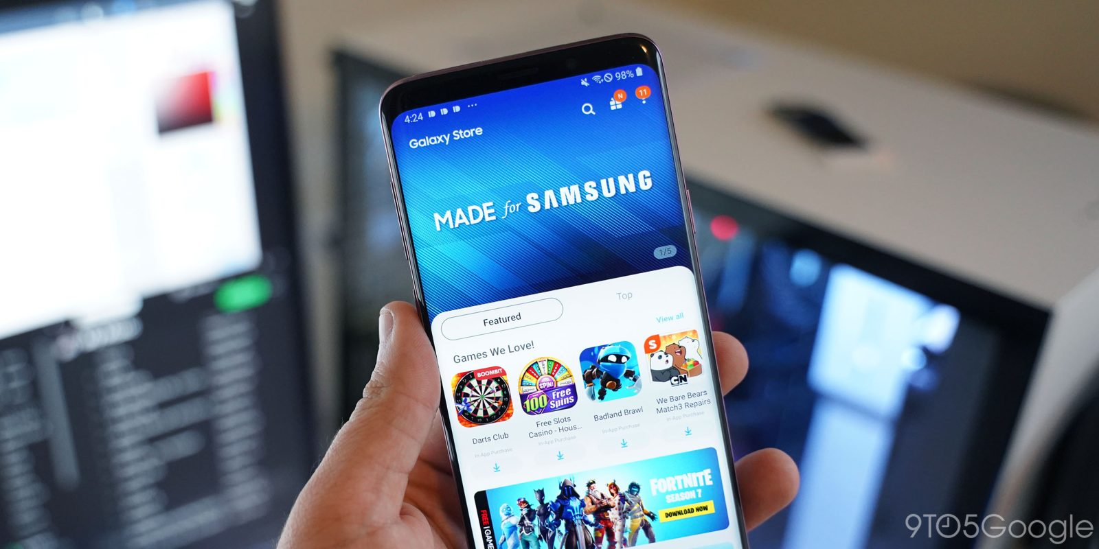 Samsung 'Galaxy Store' replaces Galaxy Apps, has One UI - 9to5Google