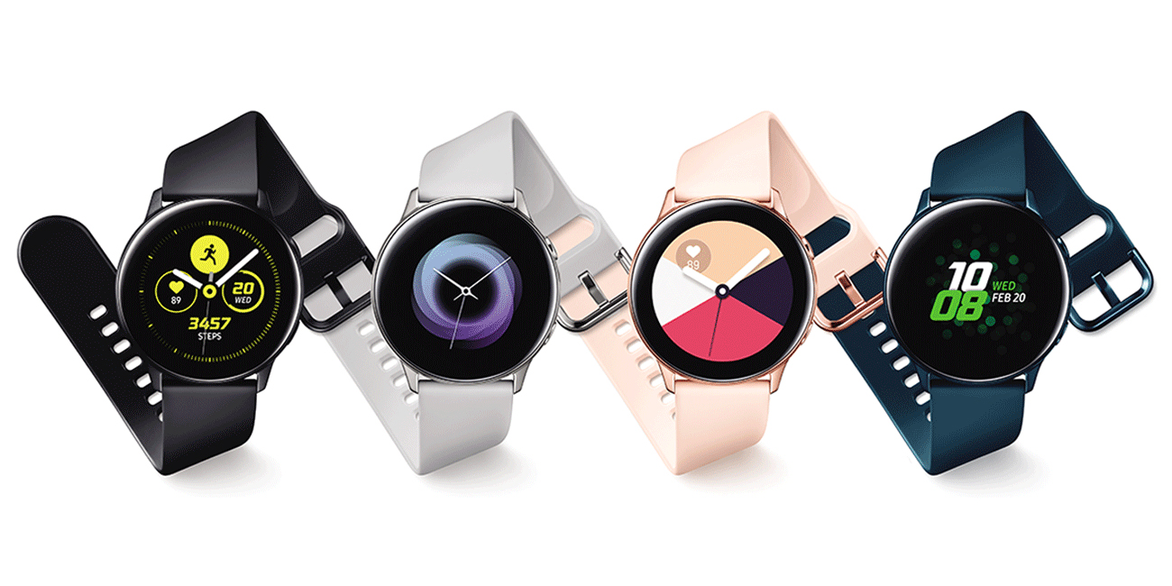 Samsung Galaxy Watch Active goes official w/ no rotating bezel, blood pressure monitoring