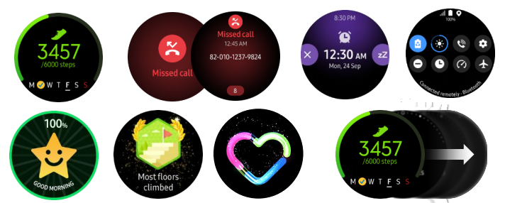 galaxy watch active with one ui
