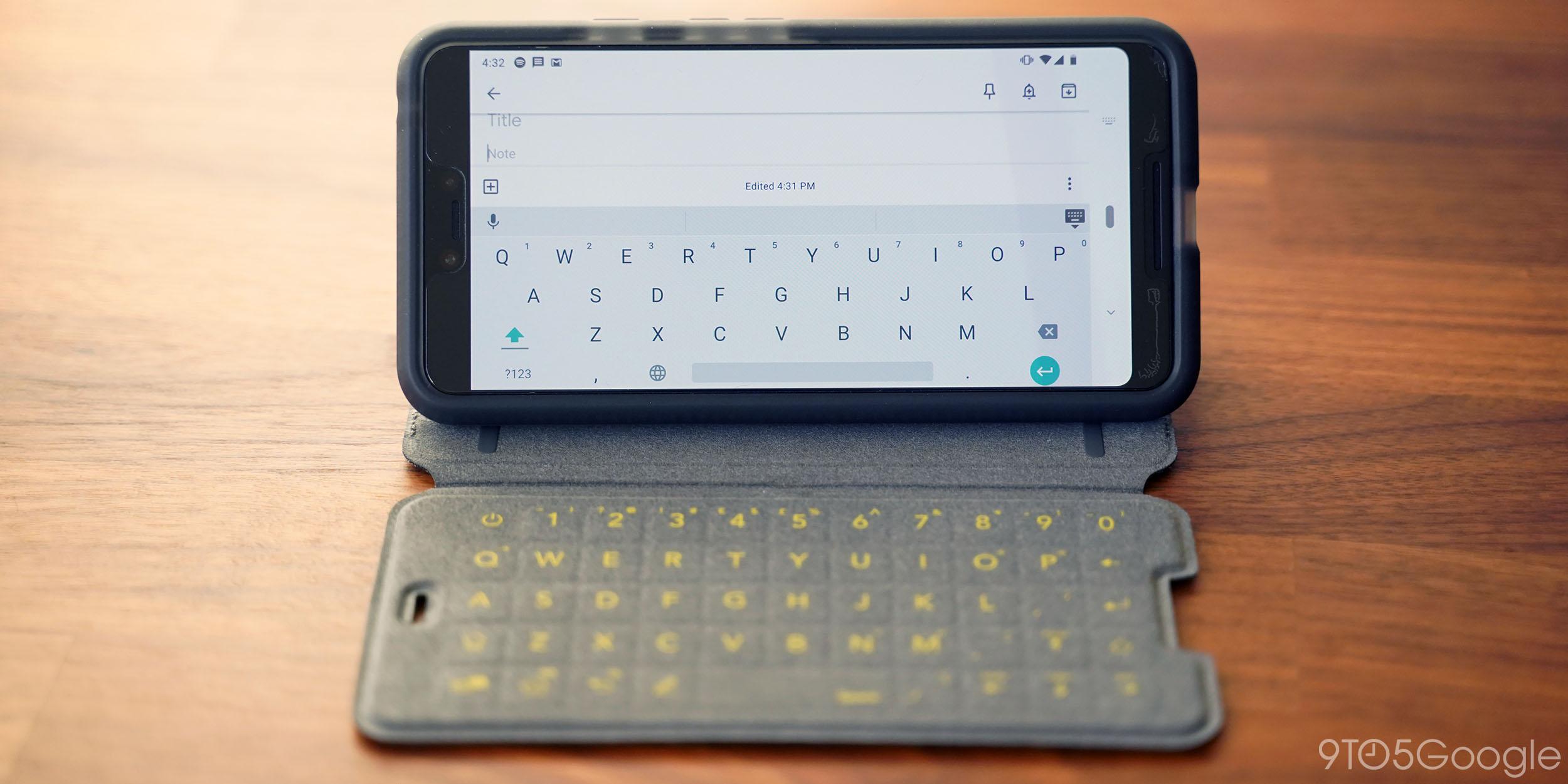 Hands-on: Tech21 EvoType keyboard case for Pixel 3 XL