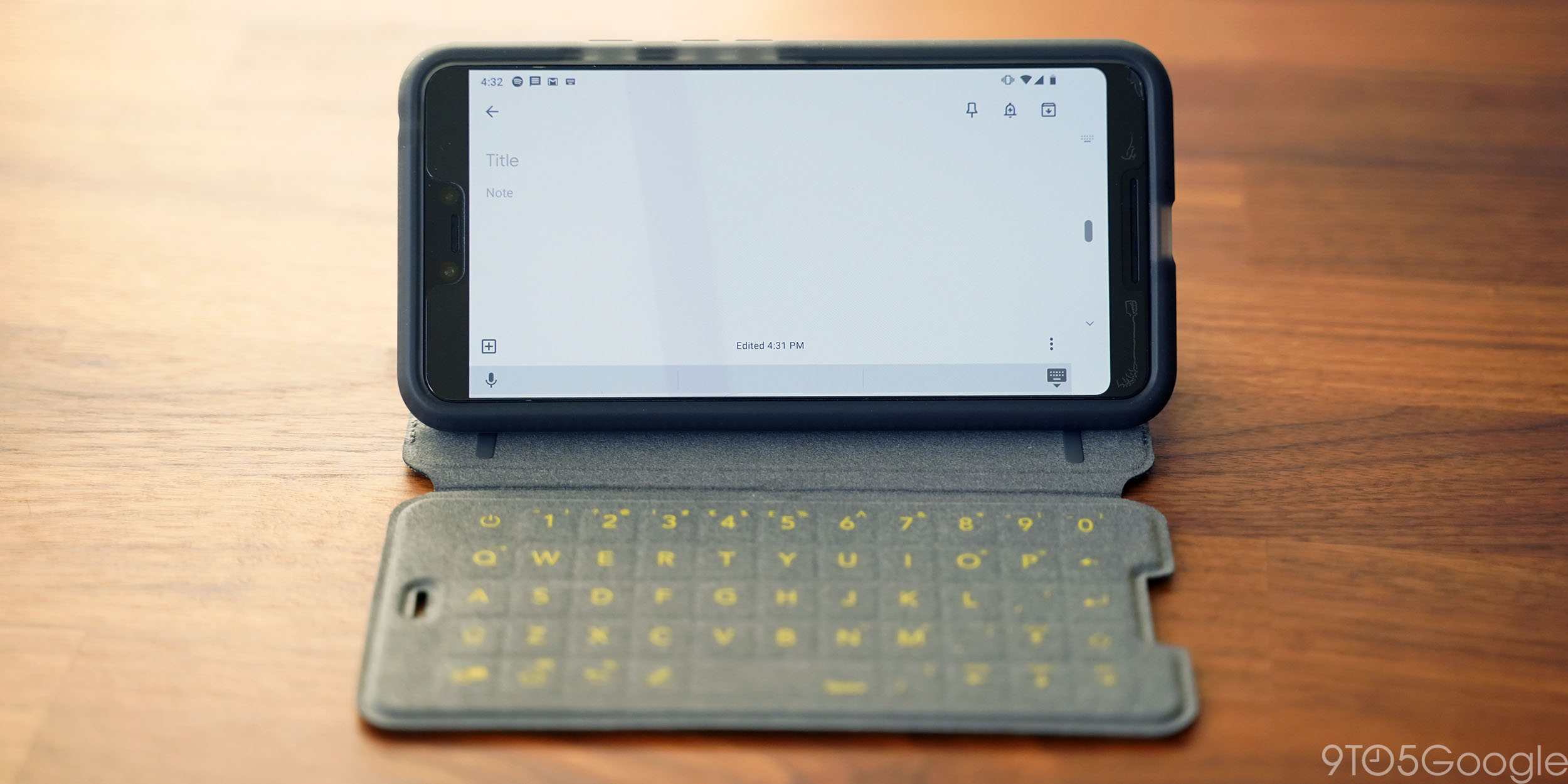 check out c1815 73827 Hands-on: Tech21 EvoType keyboard case for Pixel 3 XL - 9to5Google