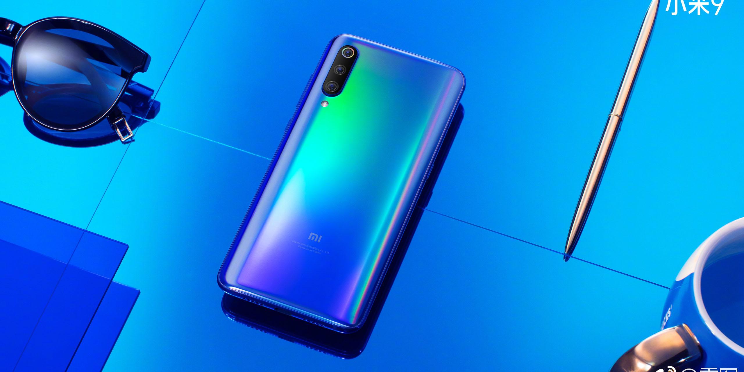 Xiaomi Mi 9 has a 'holographic' paint job, triple cameras, arrives February 24th