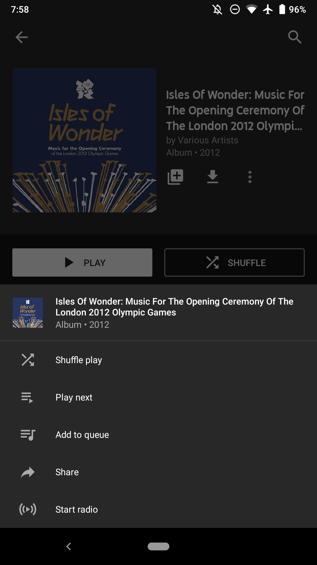 YouTube Music expands 'Add to playlist' button to albums and