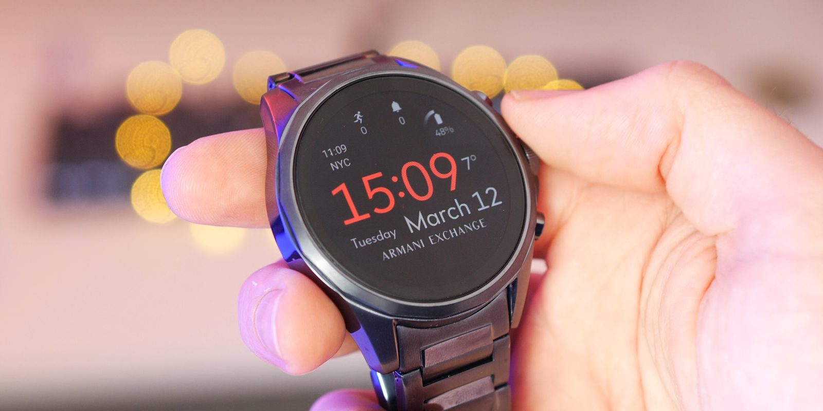 a741c230c Armani Exchange Connected review: A high-end Wear OS smartwatch that  somehow feels out of place [Video]