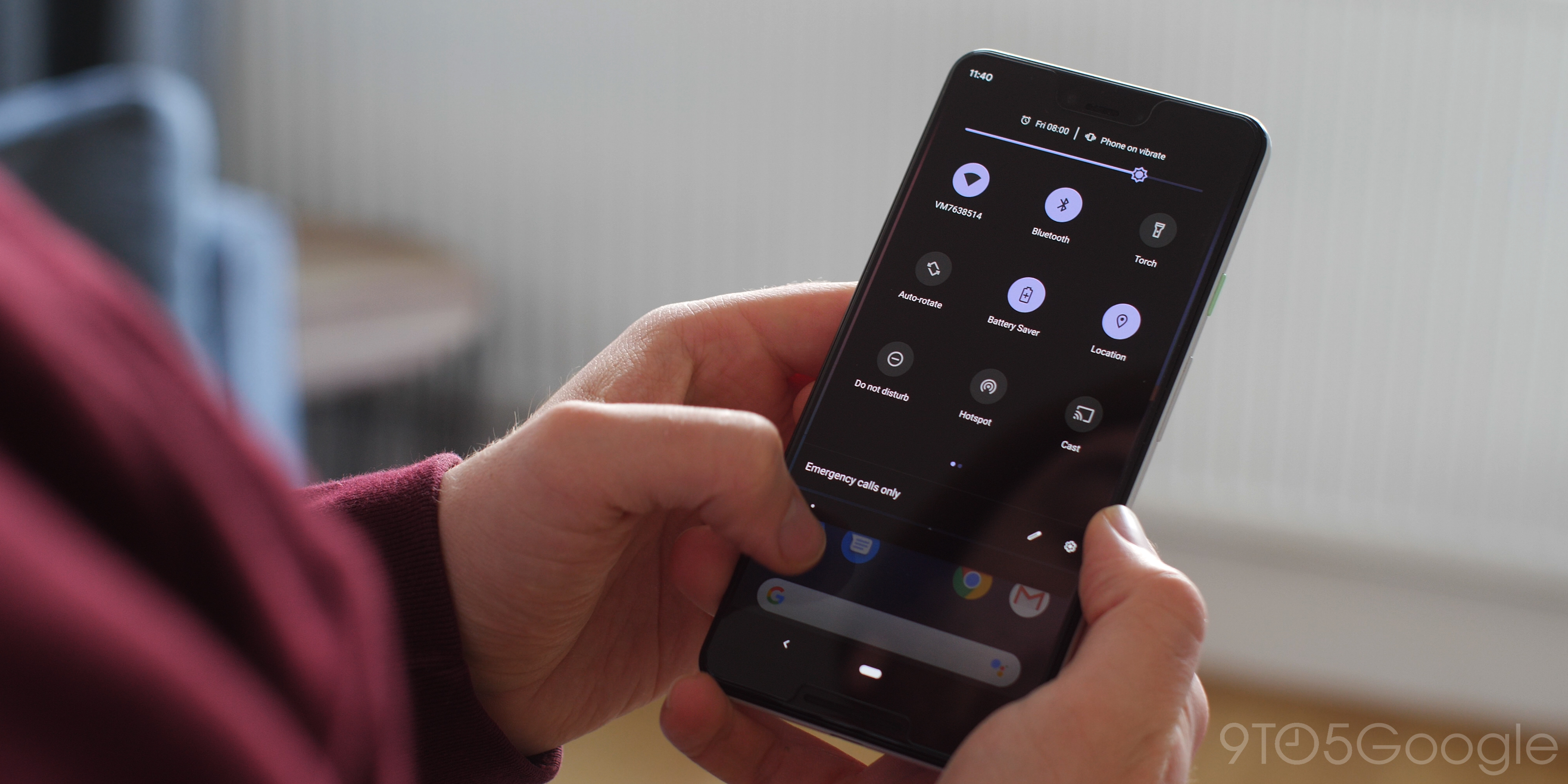Dark Mode Android Q Beta 1