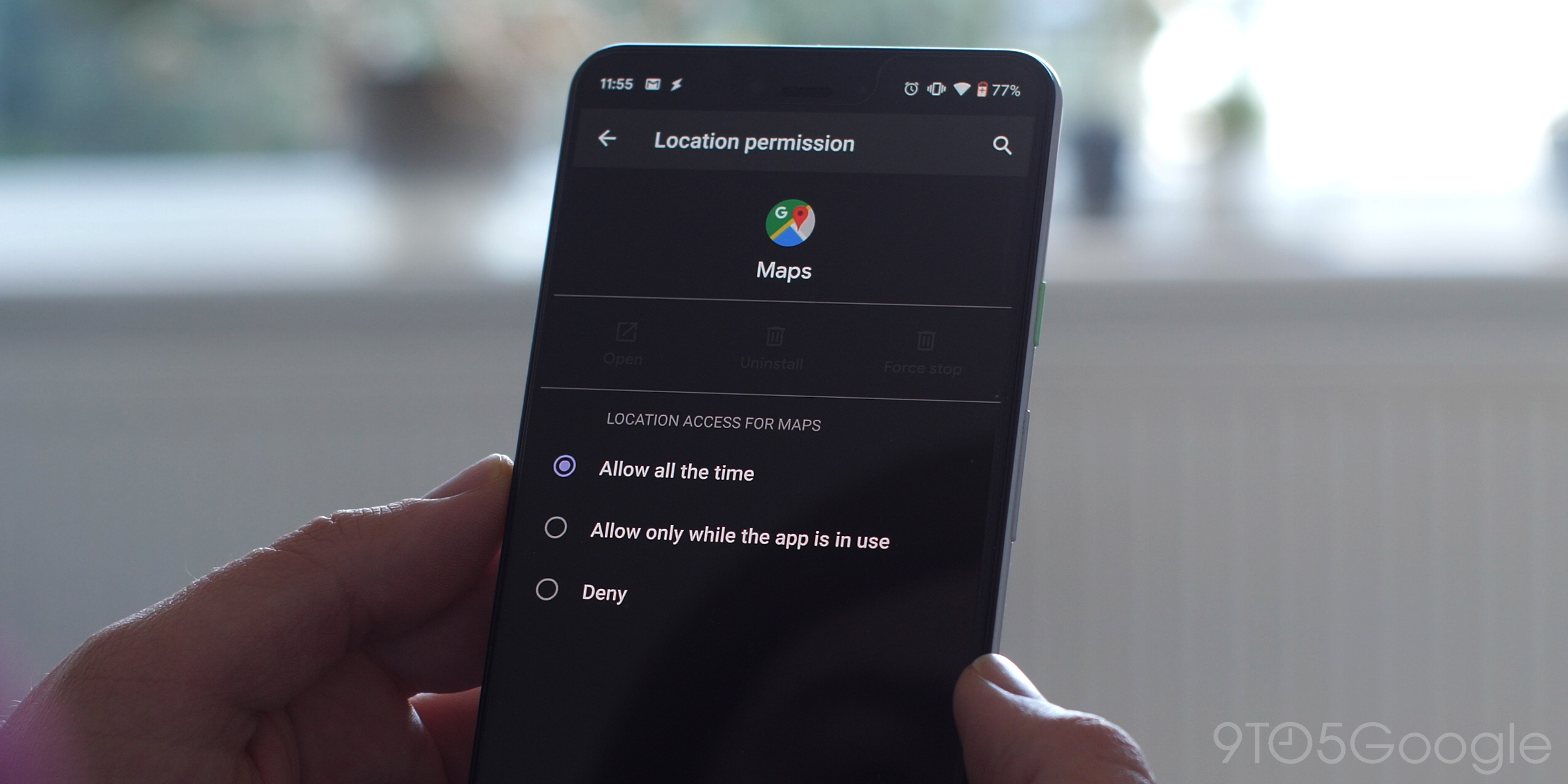 Enhanced Location controls Android Q Beta 1