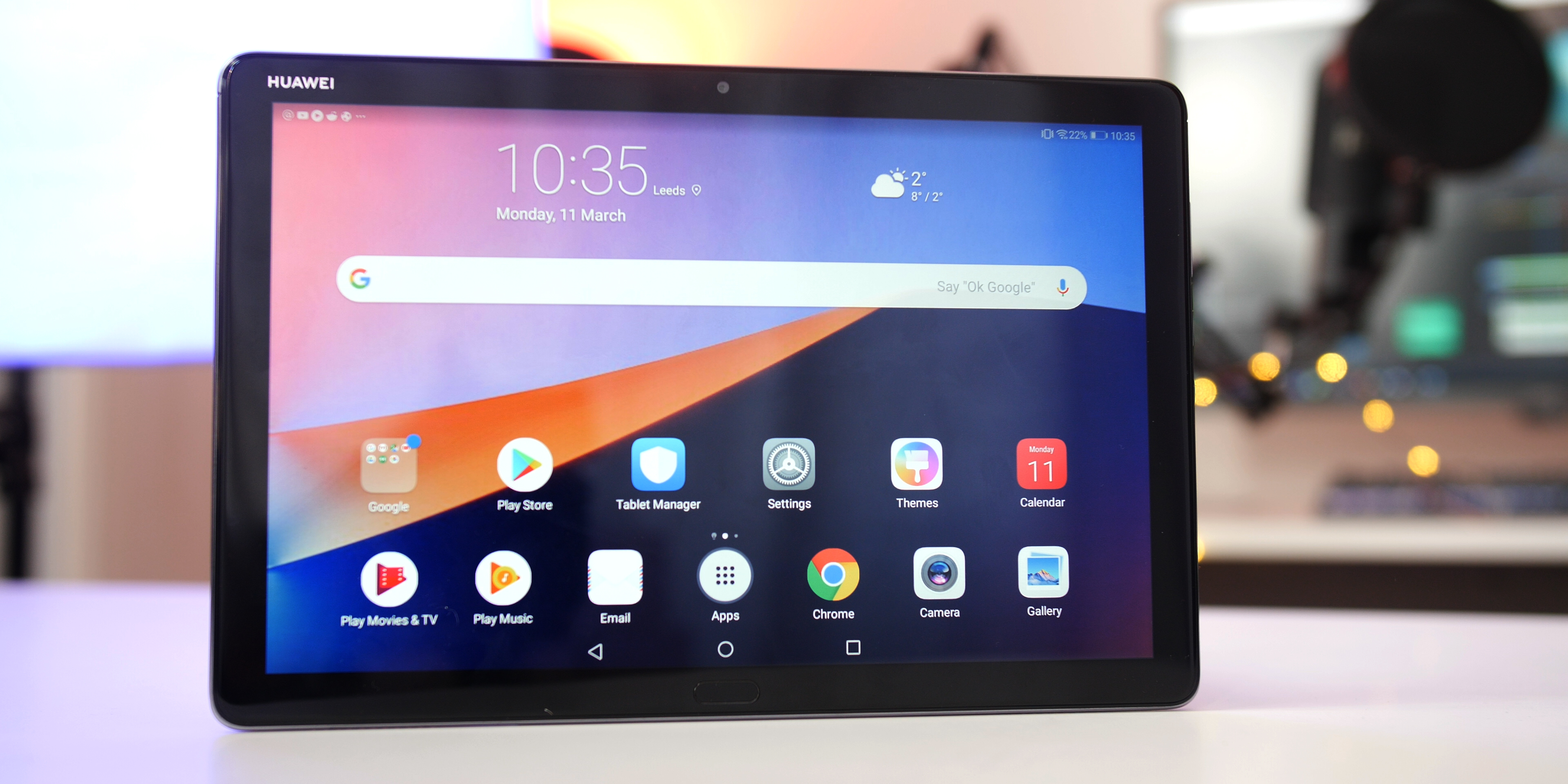 Huawei MediaPad M5 Lite Display