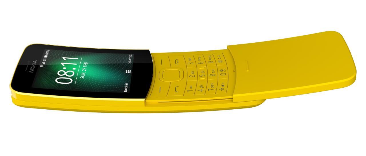 Nokia 8110 4G feature phone