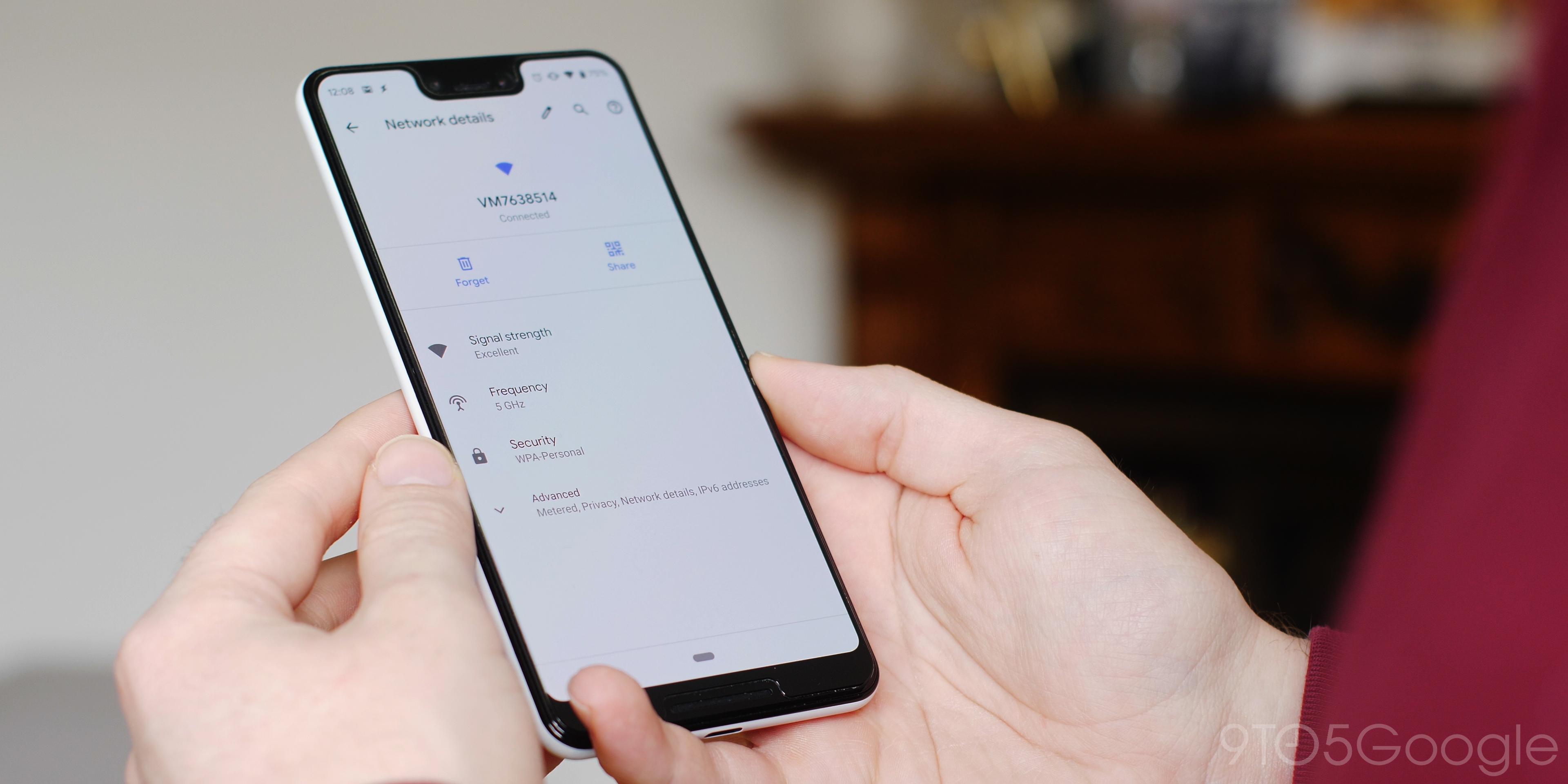 Wi-Fi QR Code sharing Android Q Beta 1