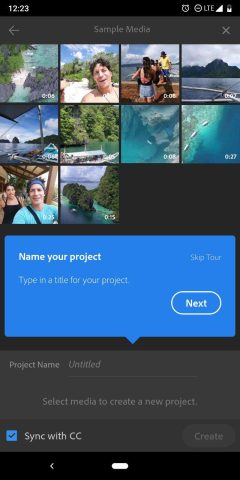 Adobe Premiere Rush beta apparently underway on Android