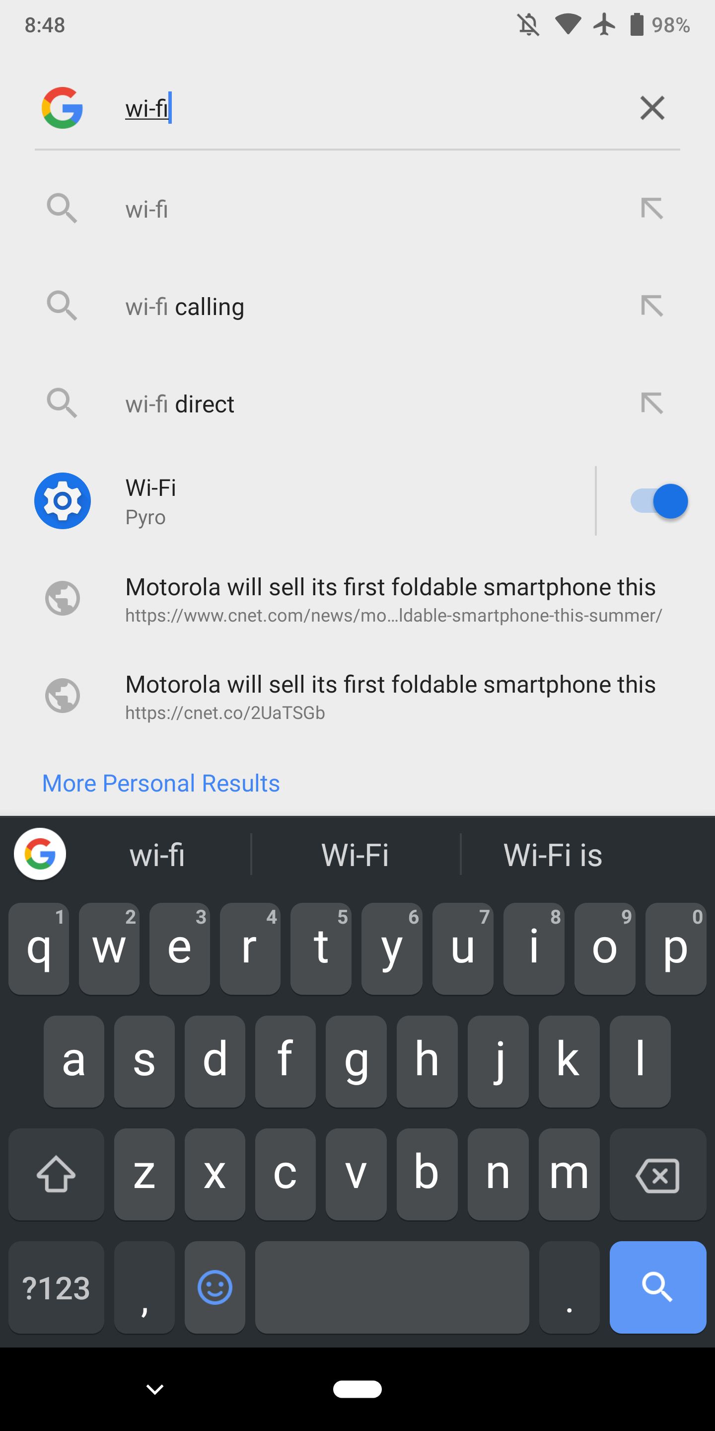 Android Slices For Wi Fi Bluetooth Other Settings Begin Appearing On Google Pixel Devices 9to5google