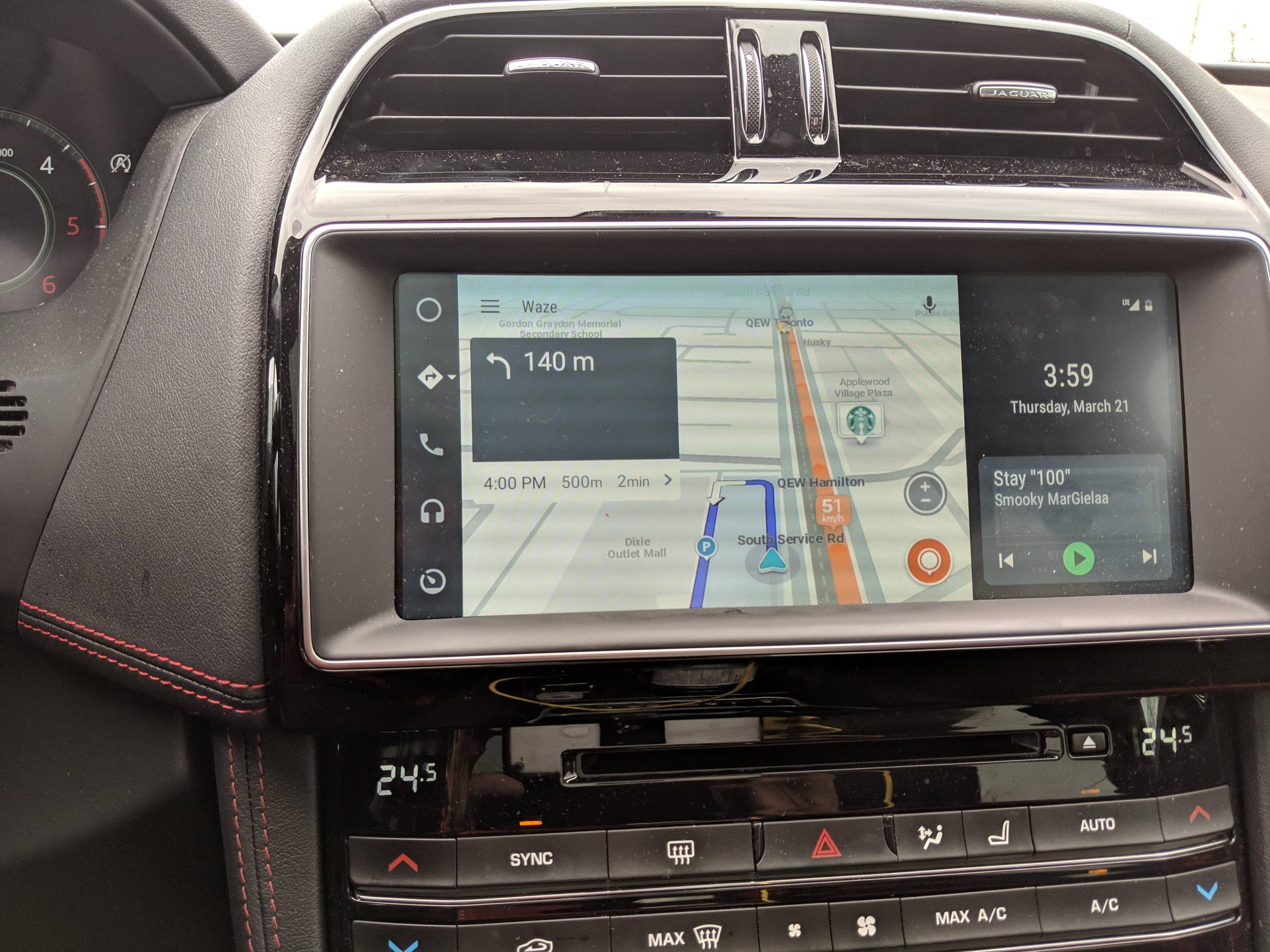 Android Auto update brings widescreen support w/ two panels, side-mounted controls
