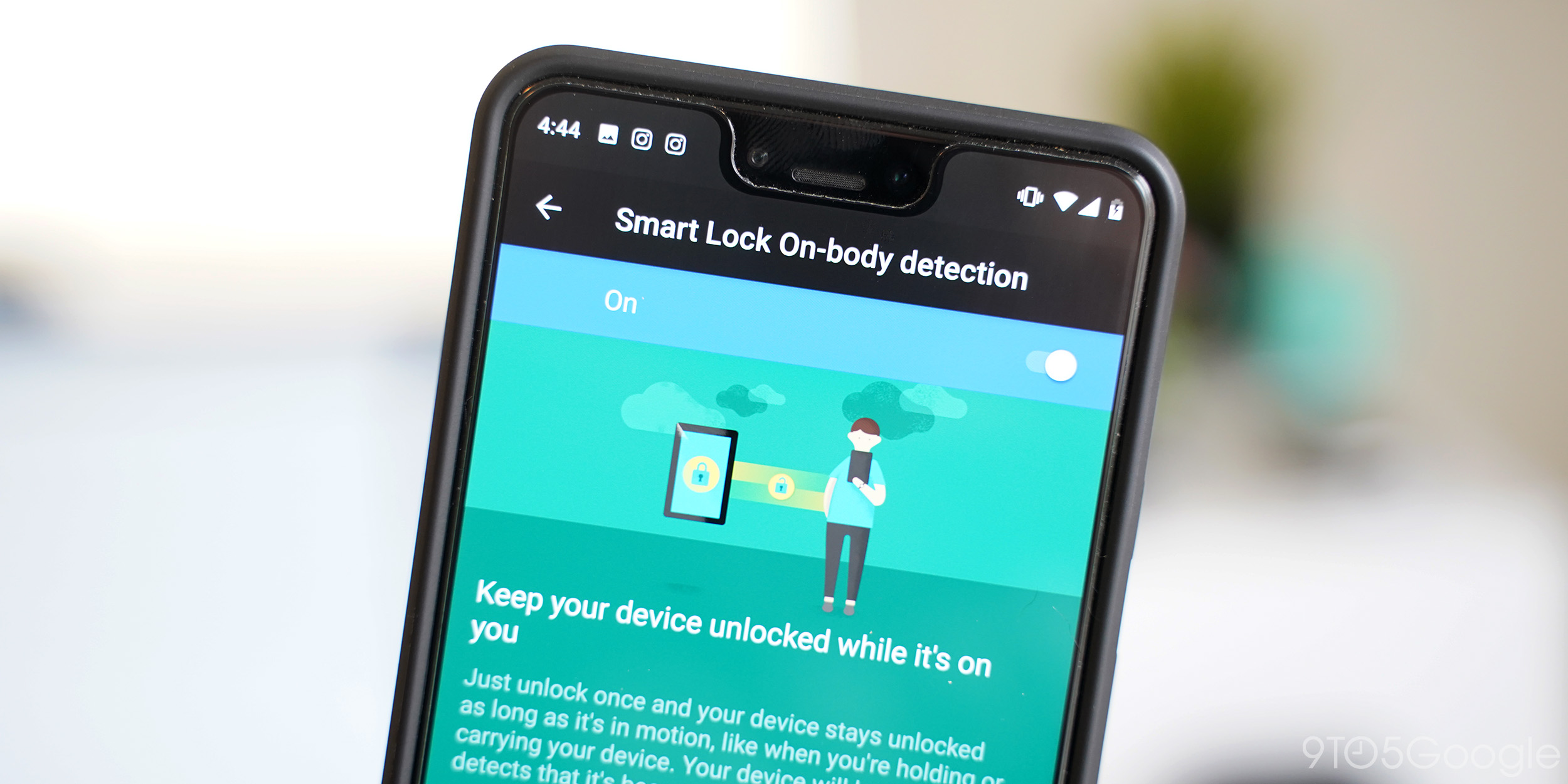 PSA: Smart Lock on-body detection leaves your Android device unlocked longer while charging