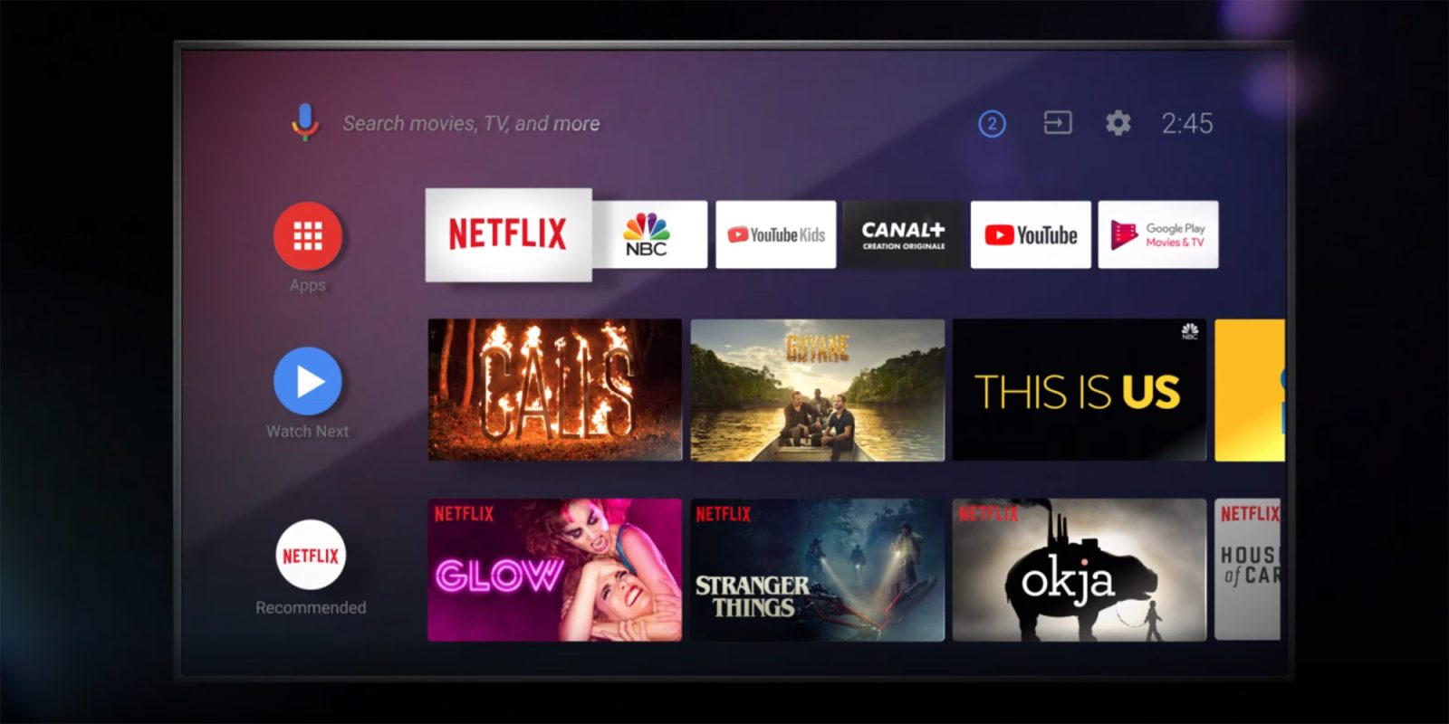 Android Tv Version