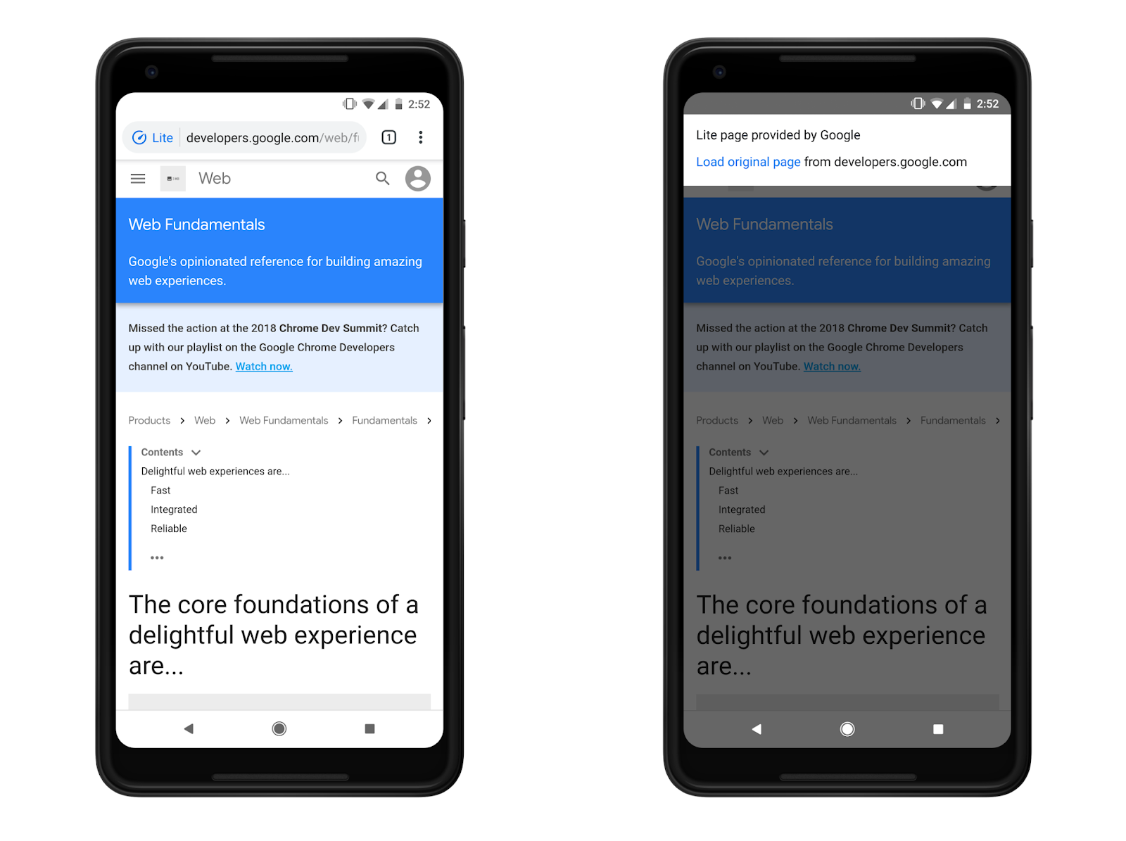 Chrome for Android's 'Data Saver' now 'Lite mode' - 9to5Google