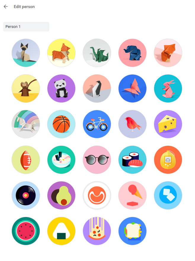 Google Chrome adds nearly a dozen new profile pictures - 9to5Google