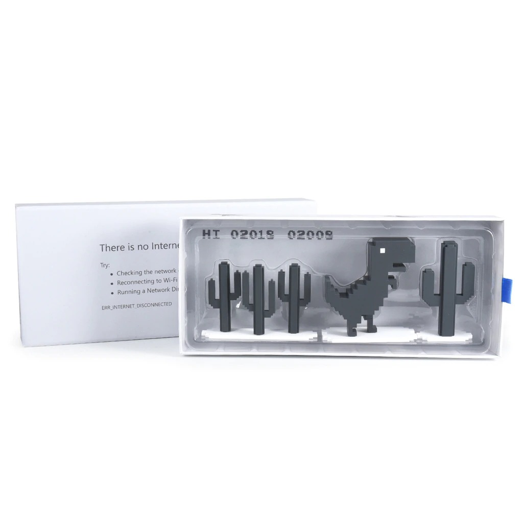 Dead Zebra's Chrome offline dinosaur toy goes on sale 3/11