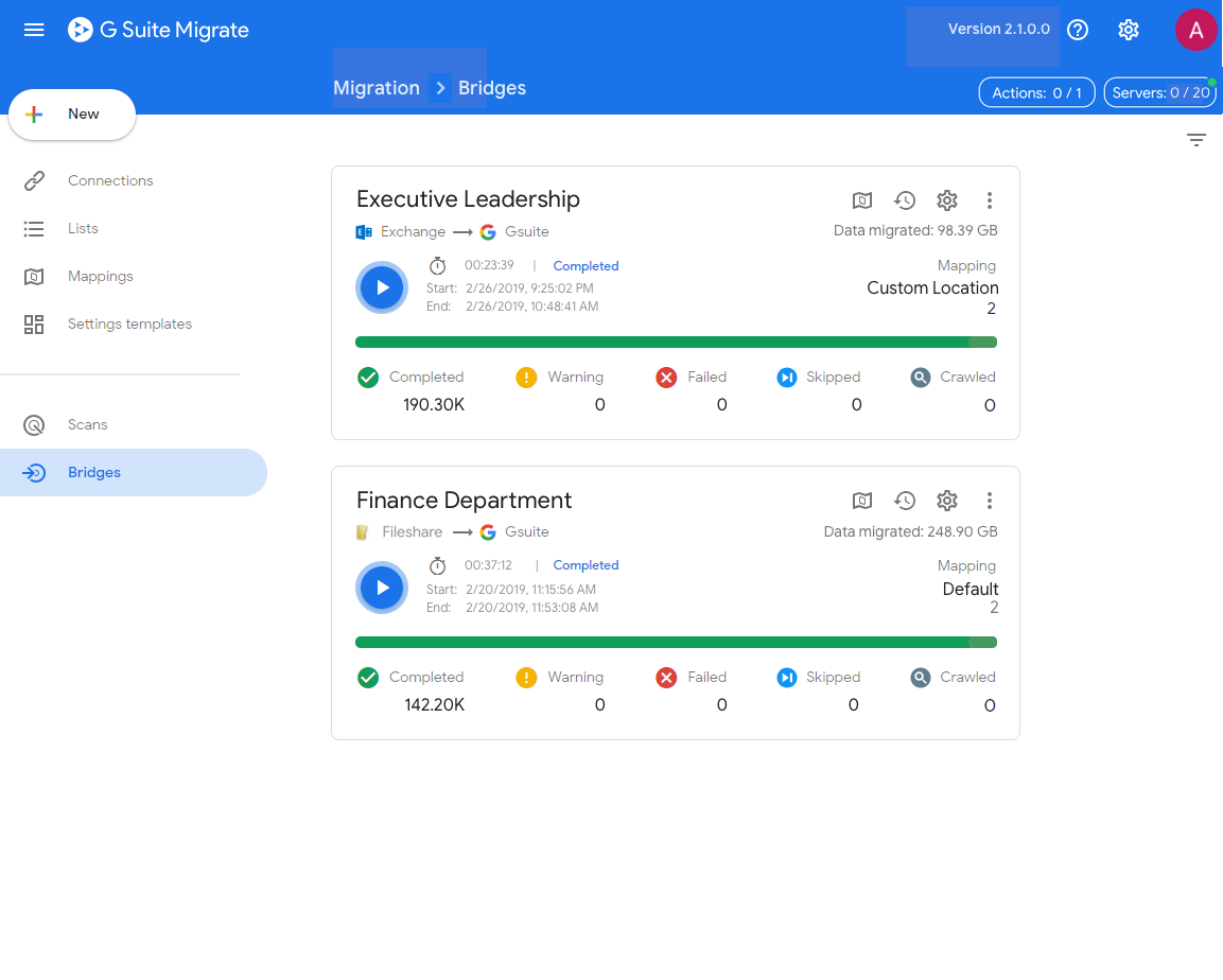 G Suite Migrate launches in beta to transition enterprise data to Google services
