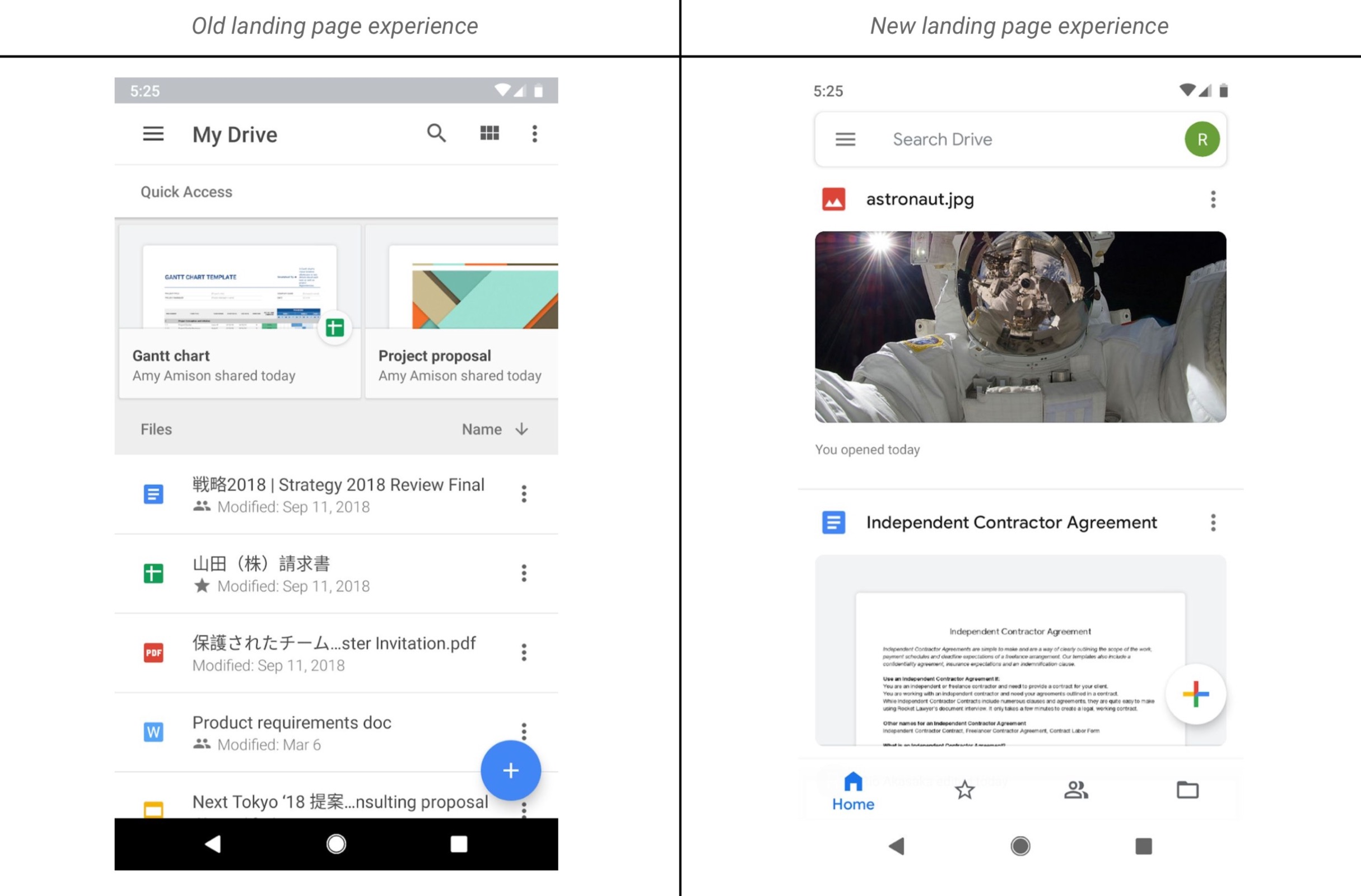 Google Drive rolls out Material Theme, dark mode for some - 9to5Google