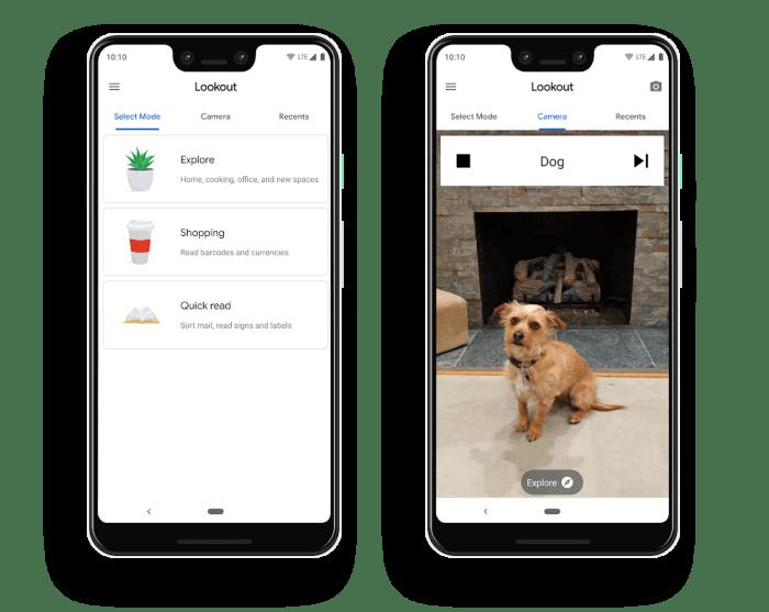 Google Lookout app