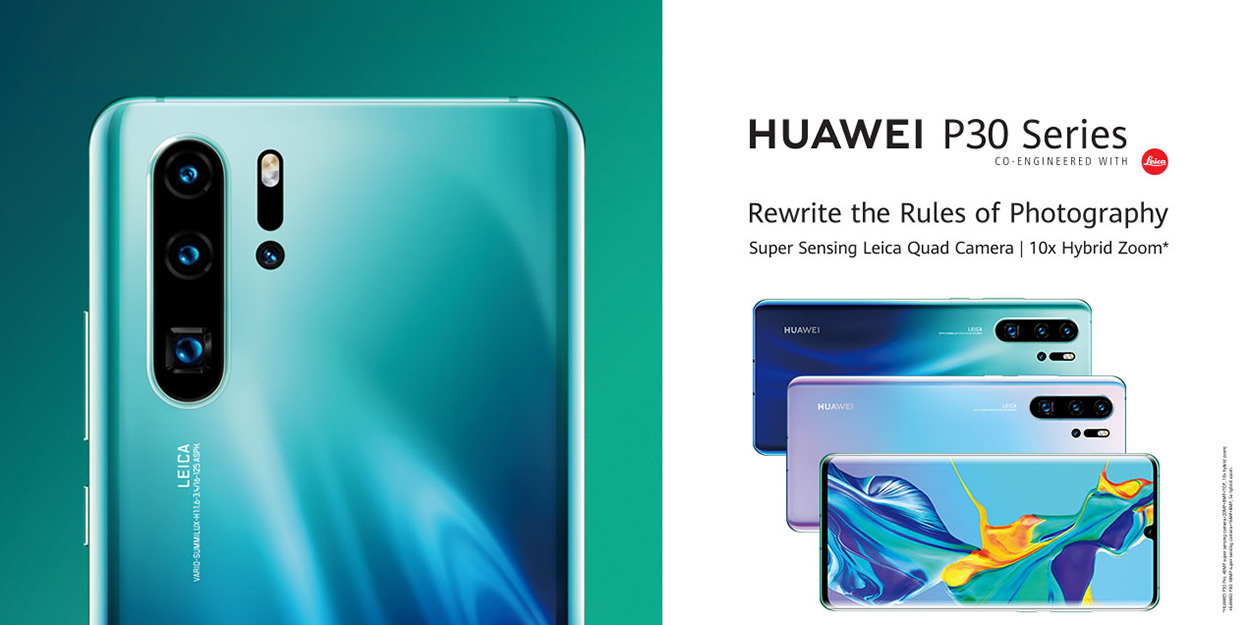 Huawei P30 Pro and Watch GT Active outed on official website, reveals 'dual-view' video