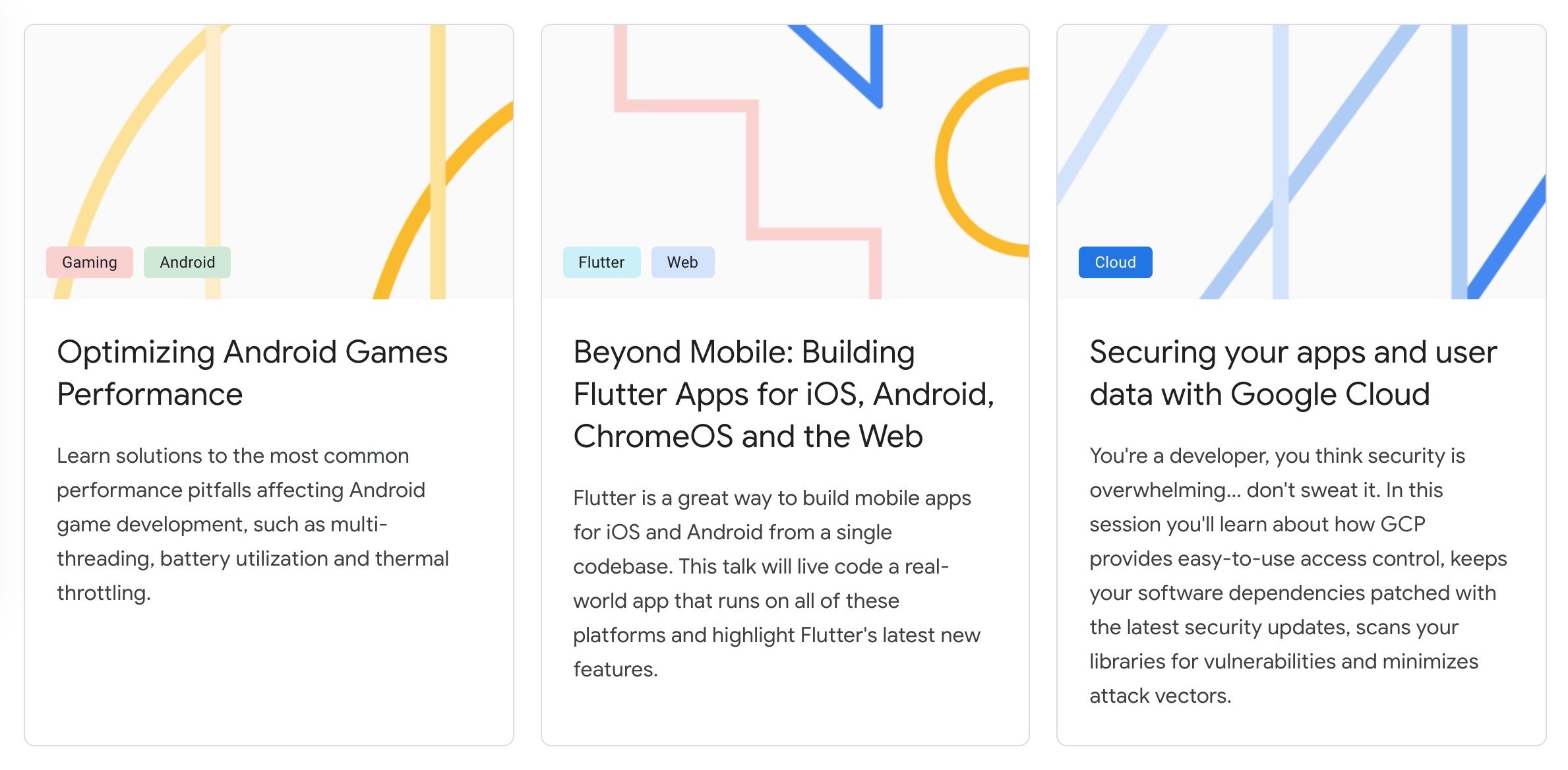 Google previews I/O 2019 schedule and tracks, including new
