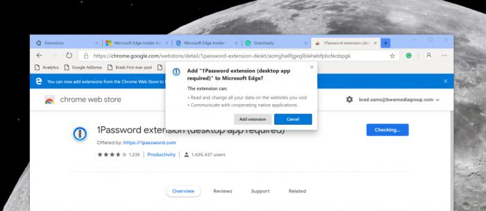 Chromium-based Microsoft Edge screenshots leak [Gallery
