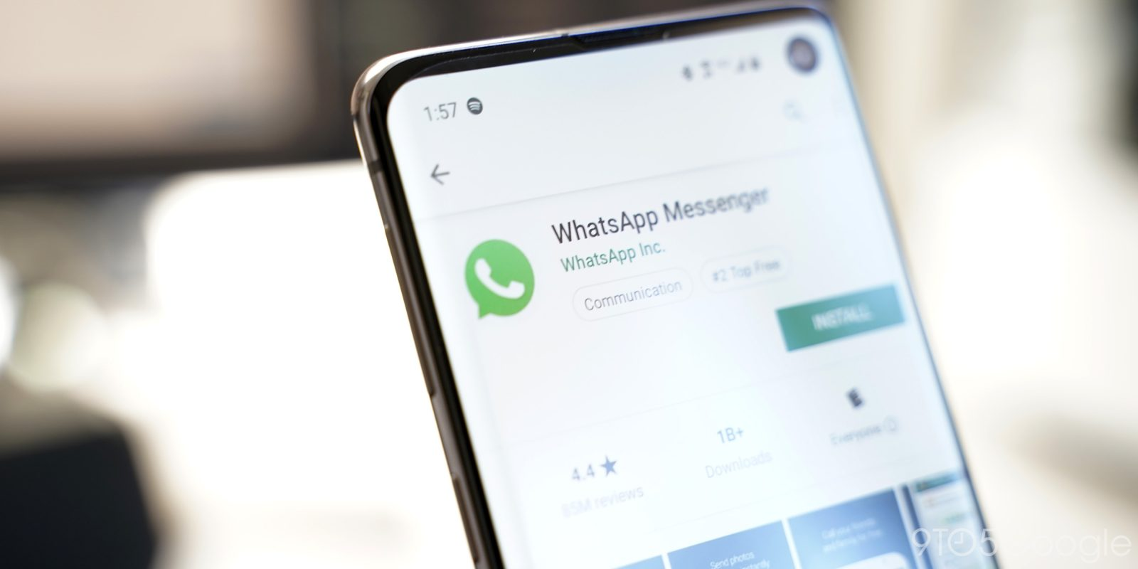 WhatsApp is only the second non-Google Android app to hit 5 billion installs