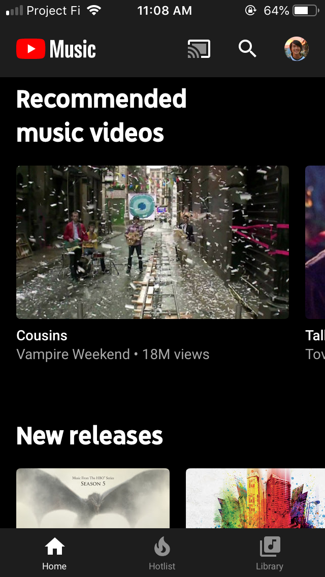 YouTube Music 3 07 lets you manually improve recommendations