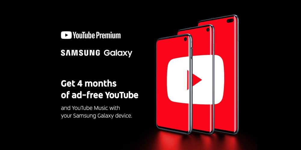 Galaxy S10 Owners Will Get 4 Months Of Youtube Premium 9to5google