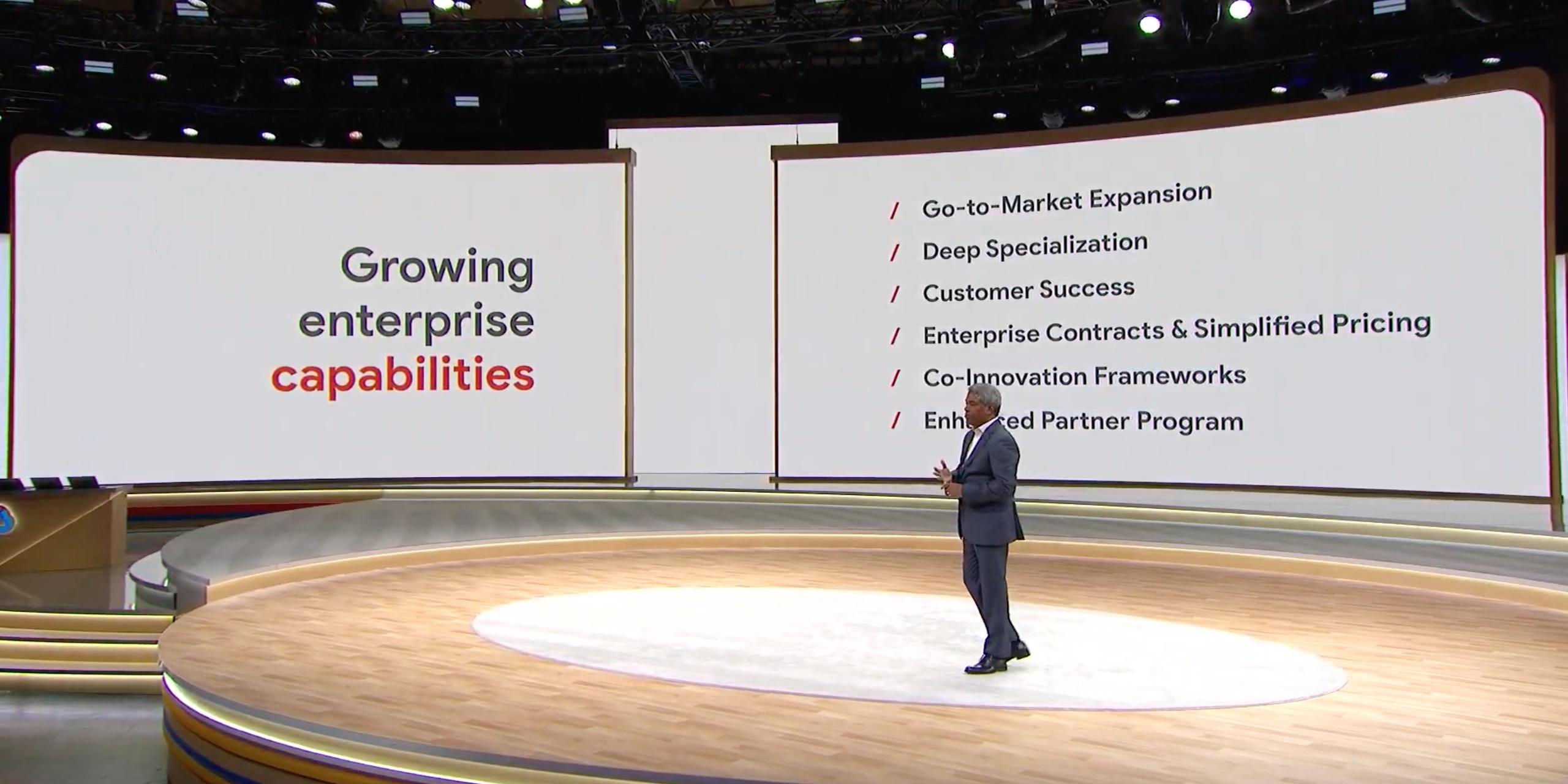Google Cloud go to market