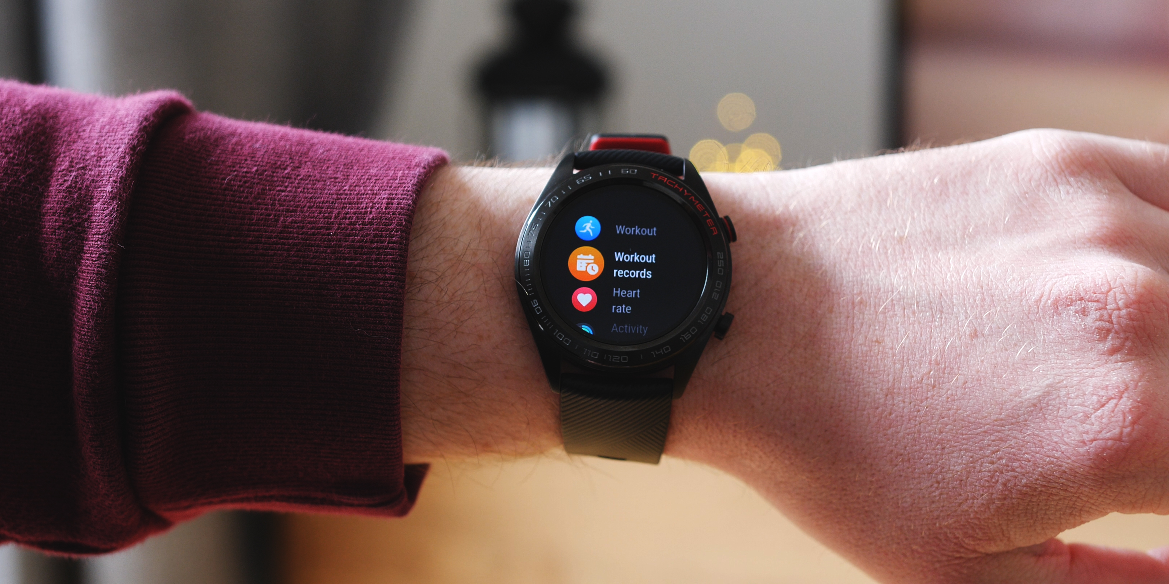 Honor Watch Magic software and features barometer