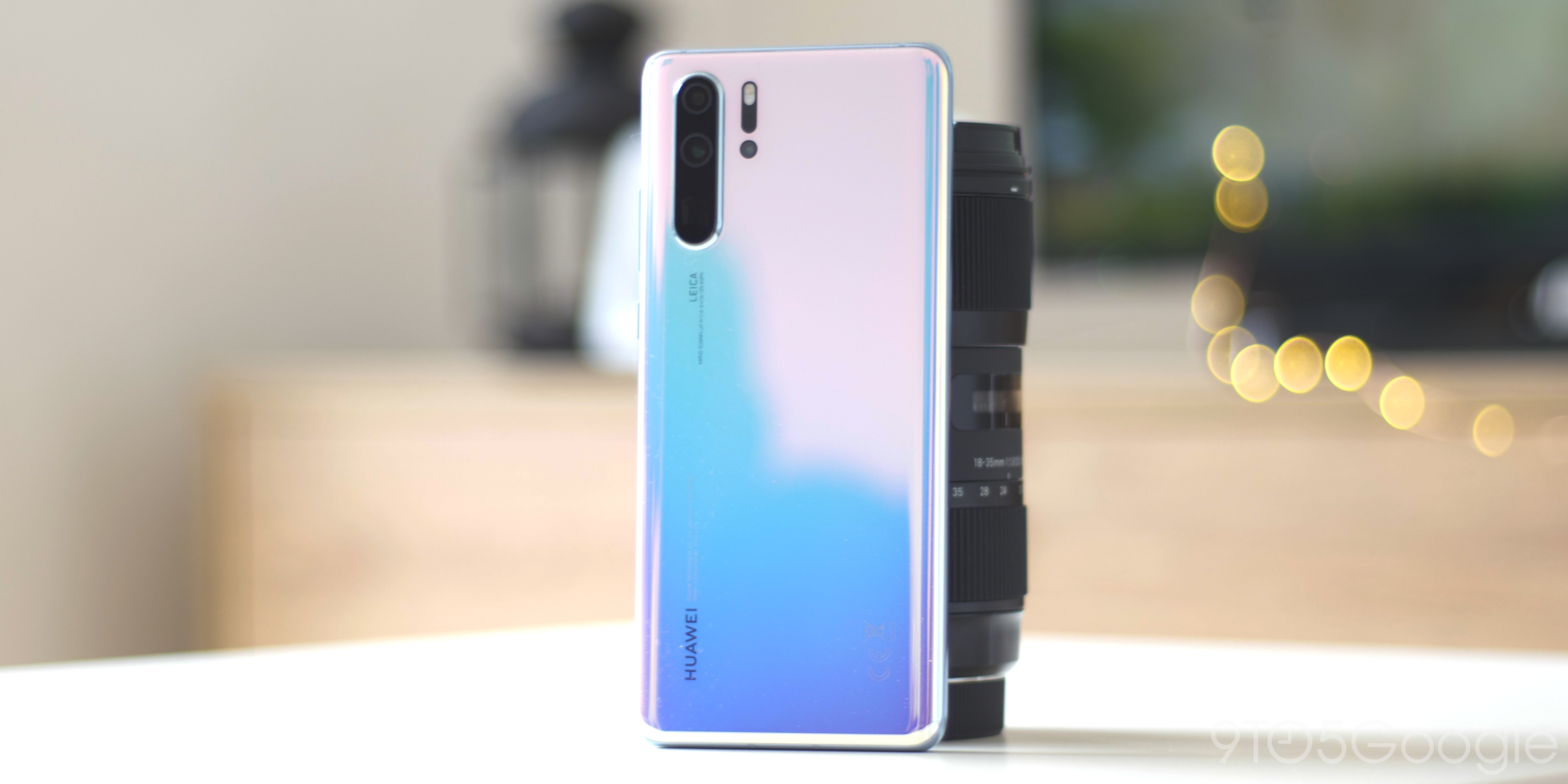 Huawei P30 Pro hardware and design