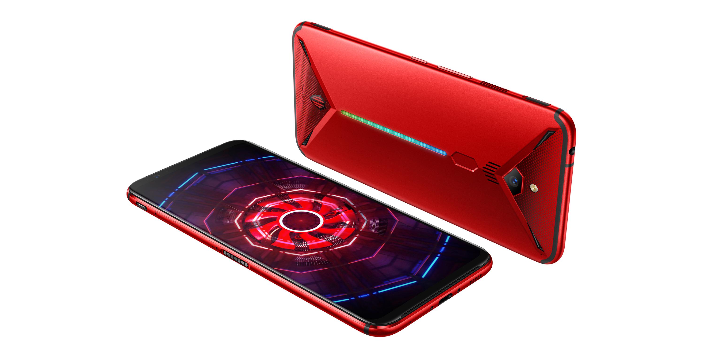 Penampakan ponsel ZTE Nubia Red Magic 3.