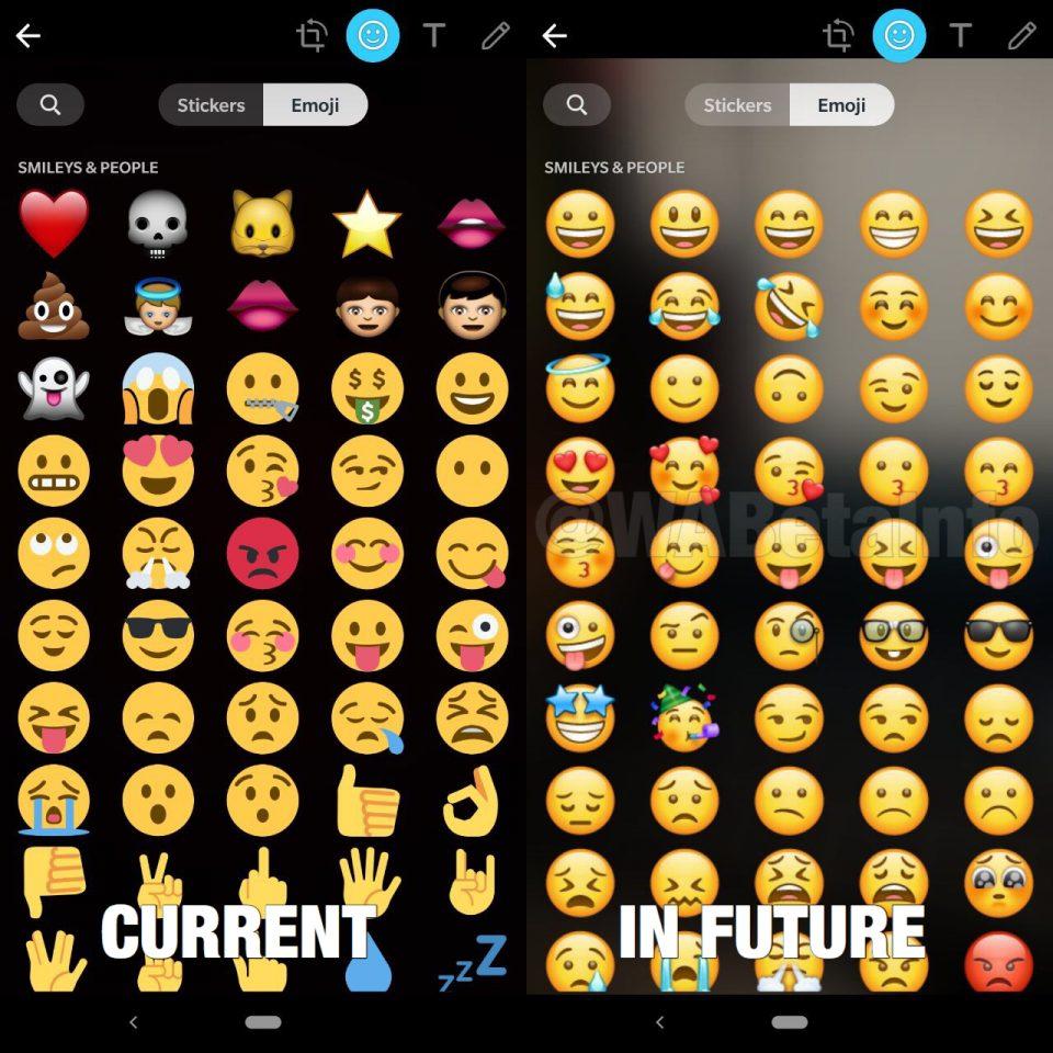 Latest WhatsApp beta testing animated stickers, new Doodle UI emoji