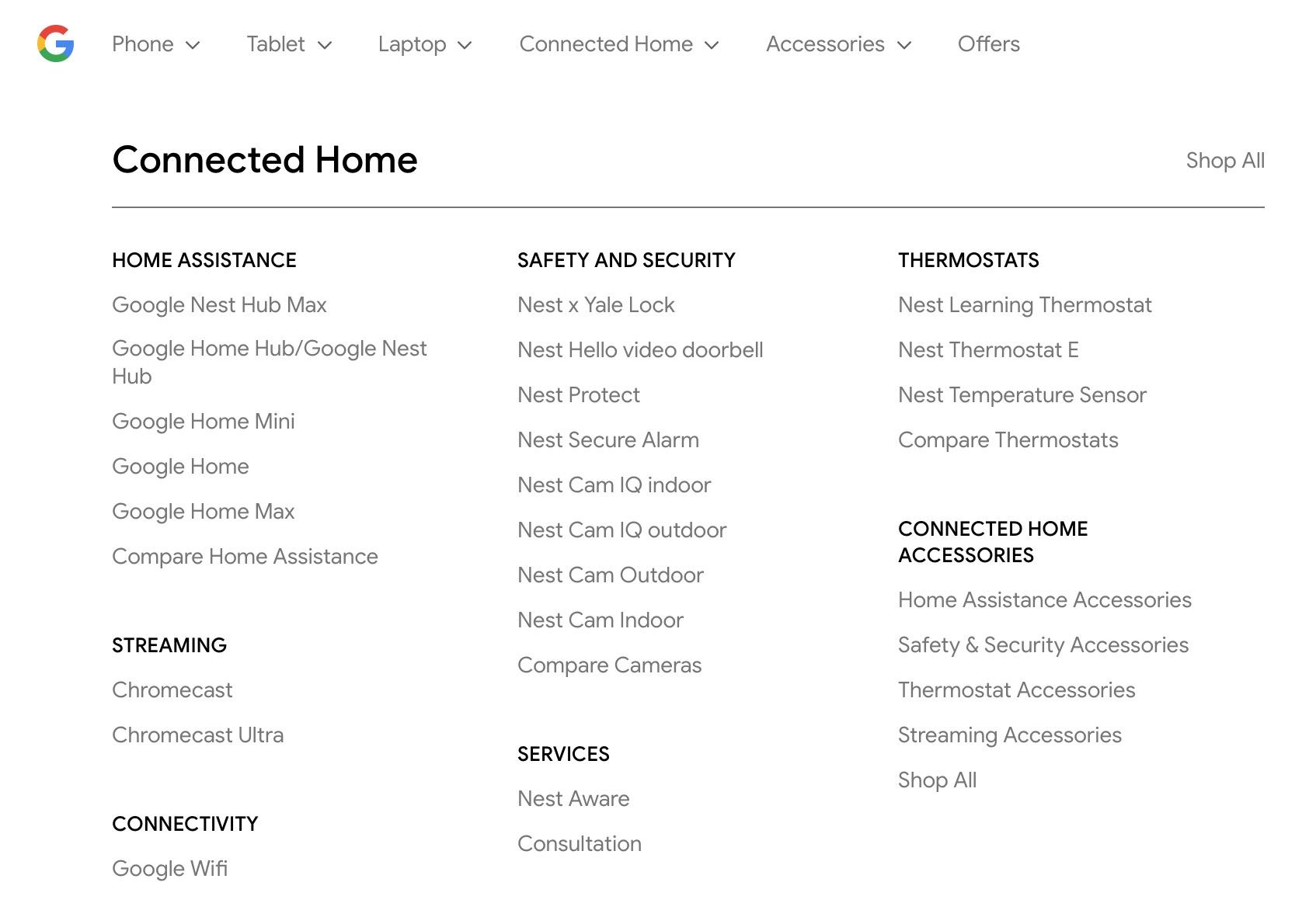 Nest Hub Max Google Store