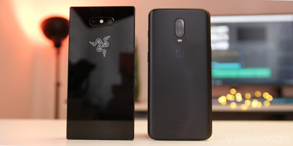 Razer Phone 2 and OnePlus 6T