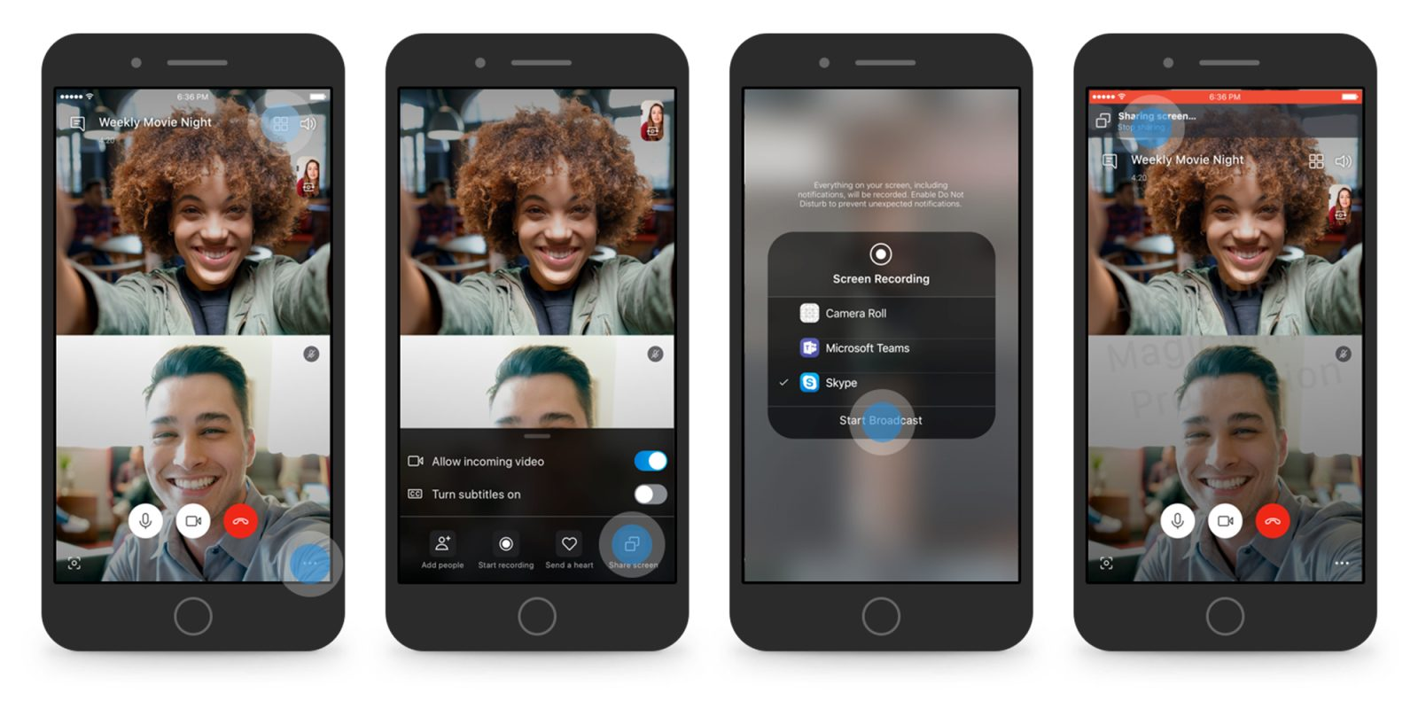 Skype adding screen sharing to Android, iOS in latest beta - 9to5Google
