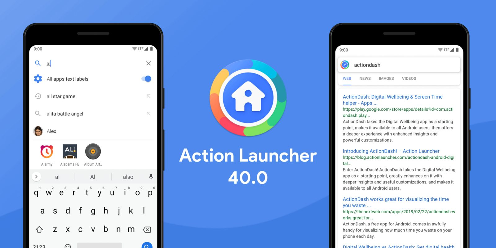 Action Launcher v40 overhaul includes new ad-supported Action Search, brand new app icon, more