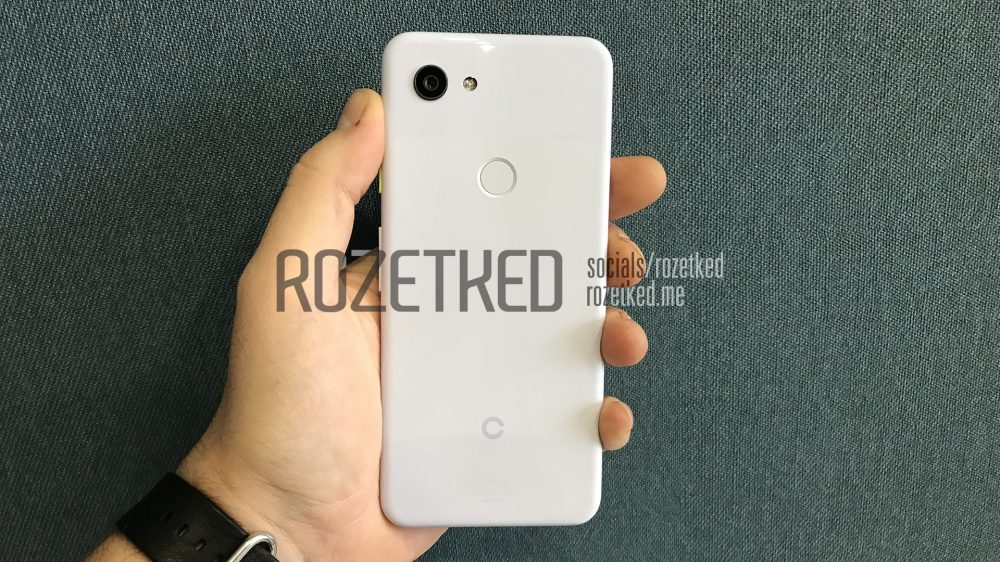 Pixel 3a XL two tone color