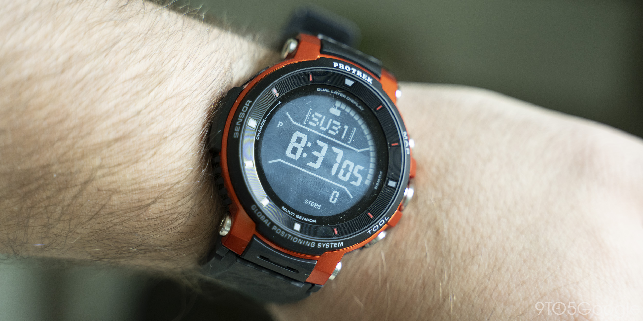 casio wsd-f30 wear os