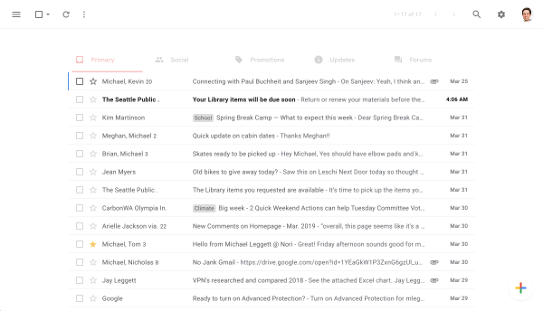 Simplify gives Gmail a clean look from Inbox co-founder