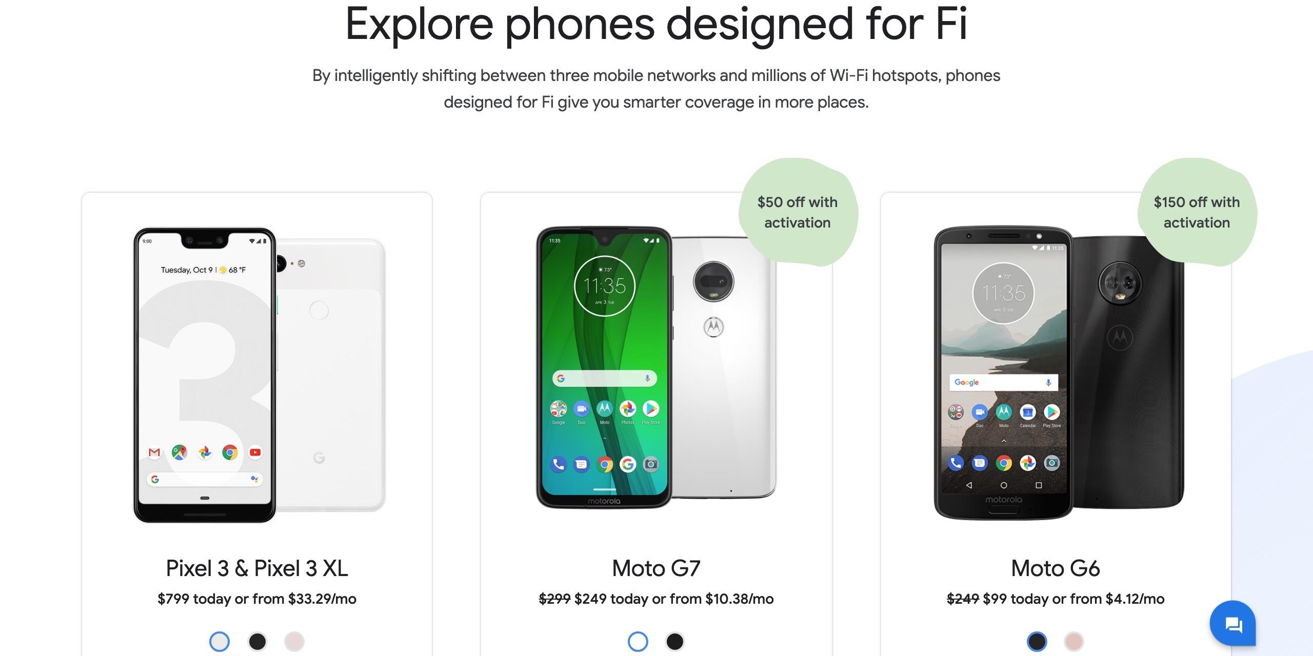 Google Fi store April 19