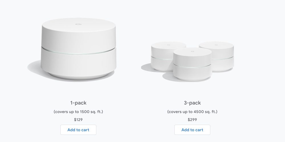 Google Wifi Eero competition pricing
