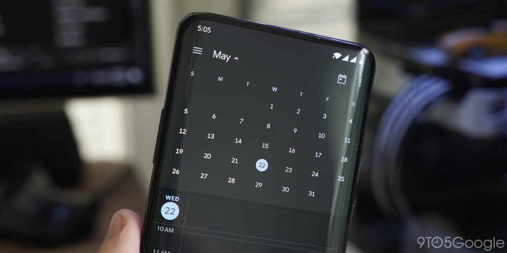 Google Design details dark themes for Photos, Calendar - 9to5Google
