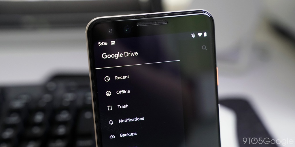 Google Drive for Android adds manual dark theme setting