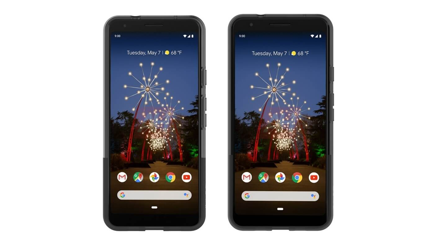 Potential Google Pixel 3a, 3a XL renders leak out in case ahead of May 7th reveal