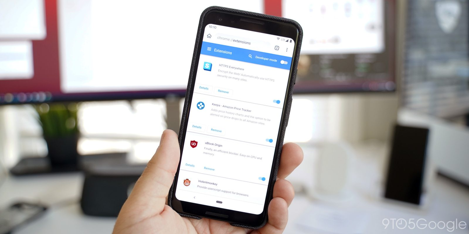Hands on: Kiwi Browser w/ Chrome extensions on Android - 9to5Google