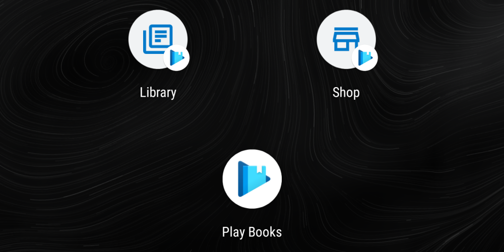 Google Play Books Material Theme